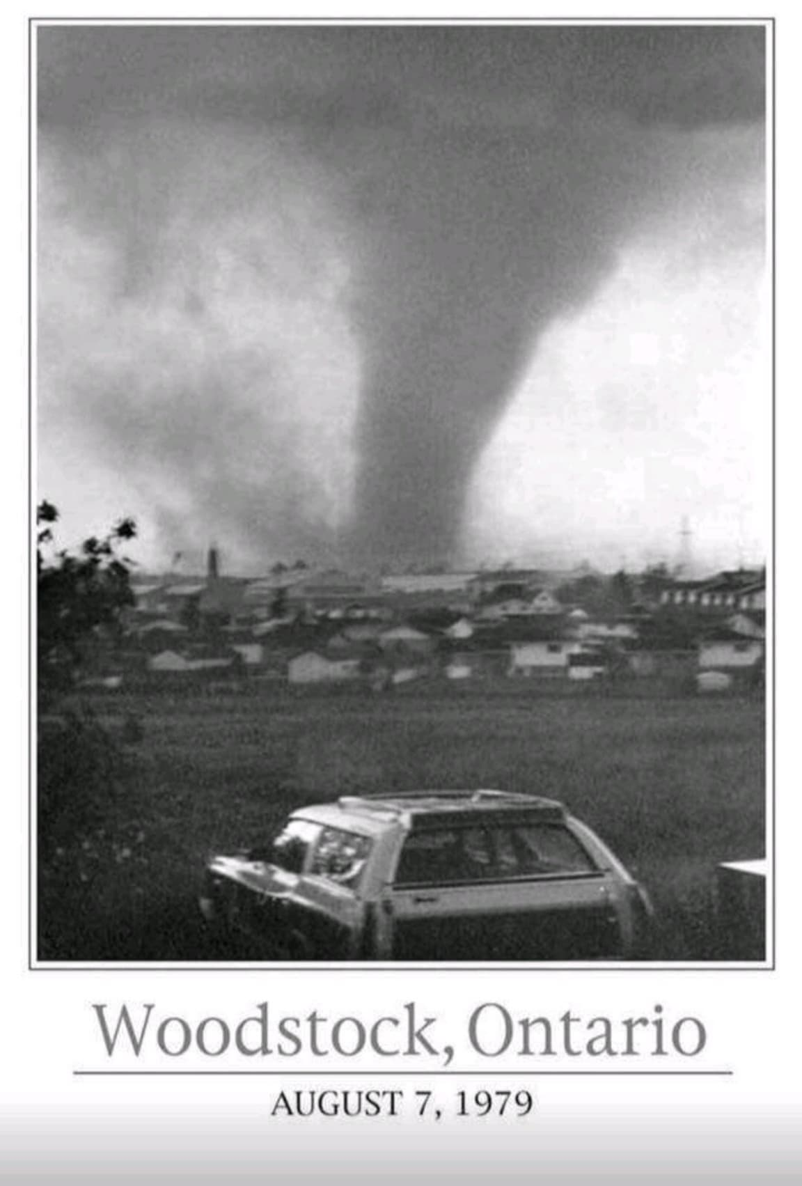Remembering the Woodstock, Ontario F4 Tornadoes - August 7th, 1979
