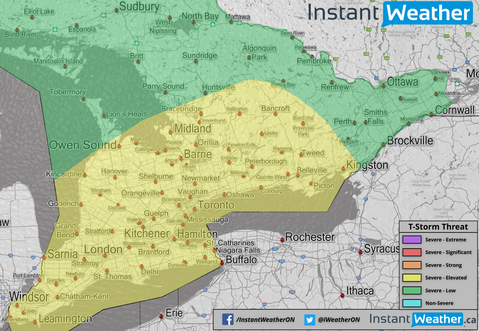 Significant 48 Hour Flood Risk and Elevated Thunderstorm Potential ...