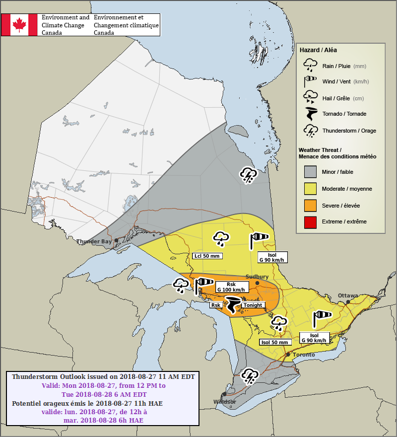 FORECAST UPDATE: Isolated Strong Thunderstorm Risk through ...